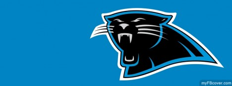 Carolina Panthers logo Facebook Cover