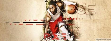 Derrick Rose Facebook Cover