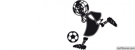 Stickman Soccer Facebook Cover