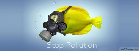 Stop Pollution Facebook Cover