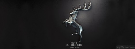 Baratheon-Game of Thrones Facebook Cover