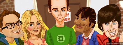 Big Bang Theory Facebook Cover