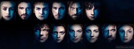 Game of Thrones Poster Facebook Cover