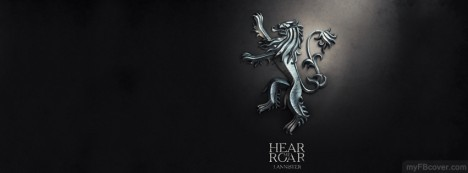 Lannister-Game of thrones Facebook Cover