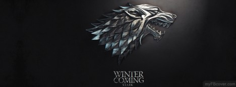 Stark-Game of Thrones Facebook Cover