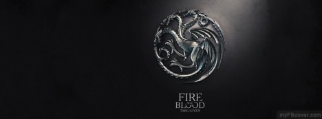 Targaryen-Game of Thrones Facebook Cover
