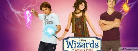 Wizards of Waverly Place Facebook Cover